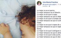 El cartel del pediatra que se ha convertido en viral cautivando a millones de madres