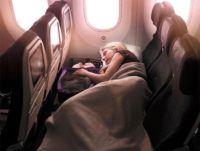 Los asientos para viajar con niños en avión con los que los padres sueñan