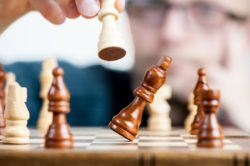 Games for children at home, chess