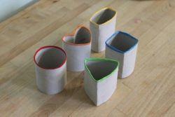 manualidades con tubos de cartón para niños 2