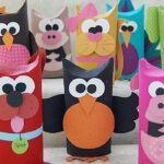 Knutselen met wc-rollen voor kinderen: 10 ideeën